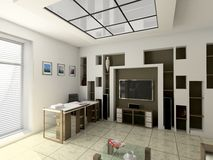 εσωτερικό γραφείο απεικόνιση αποθεμάτων