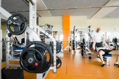 εσωτερικό γυμναστικής Στοκ εικόνα με δικαίωμα ελεύθερης χρήσης