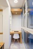 Εσωτερικό γωνιών μελέτης Στοκ φωτογραφία με δικαίωμα ελεύθερης χρήσης
