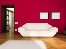 εσωτερικό δωμάτιο διανυσματική απεικόνιση