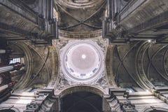 Εσωτερικό εκκλησιών Αγίου Peter στη Γάνδη Στοκ Εικόνες
