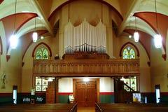εσωτερικό εκκλησιών Στοκ εικόνα με δικαίωμα ελεύθερης χρήσης