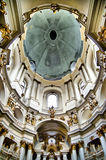 Εσωτερικό εκκλησιών Στοκ Εικόνες