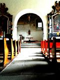 εσωτερικό εκκλησιών Στοκ Φωτογραφίες