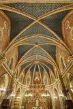 Εσωτερικό εκκλησιών SAN Pedro Teruel κυριώτερη κληρονομιά Γύρος της Ισπανίας στοκ φωτογραφίες