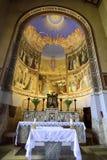 Εσωτερικό εκκλησιών Visitation, Ιερουσαλήμ Στοκ Φωτογραφίες