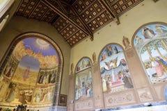 Εσωτερικό εκκλησιών Visitation, Ιερουσαλήμ Στοκ φωτογραφία με δικαίωμα ελεύθερης χρήσης