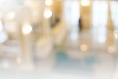 Εσωτερικό εμπορικών κέντρων de-εστίασης Στοκ φωτογραφία με δικαίωμα ελεύθερης χρήσης