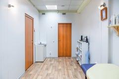 Εσωτερικό ενός δωματίου μασάζ Στοκ Φωτογραφίες