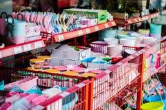 Εσωτερικό ενός ζωηρόχρωμου καταστήματος δώρων - Τουρκία Στοκ Φωτογραφίες