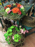 Εσωτερικό ενός καταστήματος διακοσμήσεων λουλουδιών και επίπλων Στοκ εικόνες με δικαίωμα ελεύθερης χρήσης