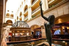 Εσωτερικό ενός Up-Market πέντε αστέρων ξενοδοχείου στοκ φωτογραφία με δικαίωμα ελεύθερης χρήσης