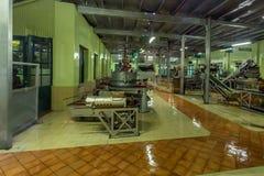 Εσωτερικό εργοστάσιο τσαγιού Στοκ εικόνες με δικαίωμα ελεύθερης χρήσης