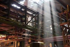 Εσωτερικό εργοστάσιο στοκ φωτογραφίες με δικαίωμα ελεύθερης χρήσης