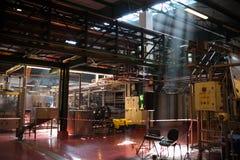Εσωτερικό εργοστάσιο στοκ εικόνες