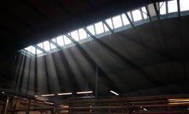 Εσωτερικό εργοστάσιο στοκ εικόνα