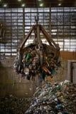 Εσωτερικό εργοστασίων επεξεργασίας αποβλήτων Στοκ Εικόνες