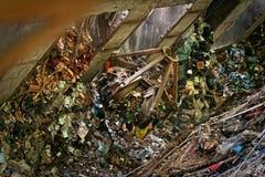 Εσωτερικό εργοστασίων επεξεργασίας αποβλήτων Στοκ φωτογραφία με δικαίωμα ελεύθερης χρήσης