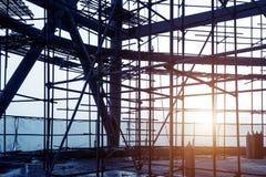 Εσωτερικό εργοτάξιων οικοδομής Στοκ φωτογραφίες με δικαίωμα ελεύθερης χρήσης