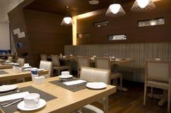 Εσωτερικό εστιατορίων μπουφέδων προγευμάτων Στοκ φωτογραφία με δικαίωμα ελεύθερης χρήσης