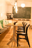 Εσωτερικό εστιατορίων Στοκ εικόνα με δικαίωμα ελεύθερης χρήσης