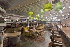 Εσωτερικό εστιατορίων Στοκ φωτογραφίες με δικαίωμα ελεύθερης χρήσης