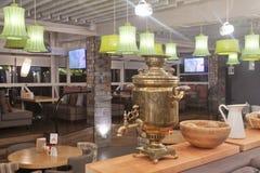 Εσωτερικό εστιατορίων Στοκ εικόνες με δικαίωμα ελεύθερης χρήσης