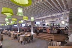 Εσωτερικό εστιατορίων Στοκ Φωτογραφία