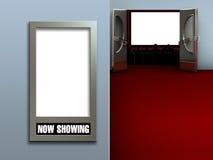 εσωτερικό θέατρο Στοκ Εικόνες