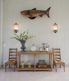 Εσωτερικό διάστημα διακοσμήσεων με τα furnitures Στοκ Εικόνες