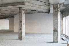 Εσωτερικό κάτω από την κατασκευή Στοκ Εικόνες