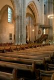 εσωτερικό καθεδρικών ναών στοκ εικόνες με δικαίωμα ελεύθερης χρήσης