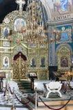 Εσωτερικό καθεδρικών ναών Nativity - Chisinau στοκ εικόνες με δικαίωμα ελεύθερης χρήσης