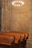 εσωτερικό καθεδρικών ναώ στοκ εικόνα