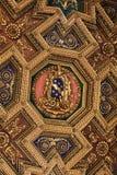 Εσωτερικό και αρχιτεκτονικές λεπτομέρειες του Di Σάντα Μαρία βασιλικών σε Trastevere στη Ρώμη Στοκ φωτογραφία με δικαίωμα ελεύθερης χρήσης