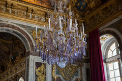 Εσωτερικό και λεπτομέρειες Château de Βερσαλλίες, Γαλλία Στοκ Φωτογραφίες