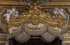 Εσωτερικό και λεπτομέρειες Château de Βερσαλλίες, Γαλλία Στοκ εικόνες με δικαίωμα ελεύθερης χρήσης