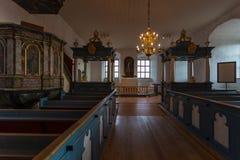 Εσωτερικό και λεπτομέρειες του Τουρκού Castle στη Φινλανδία στοκ φωτογραφίες