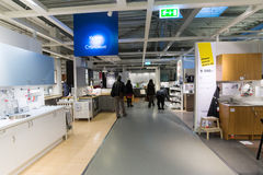 Εσωτερικό κατάστημα επίπλων  Στοκ Φωτογραφία