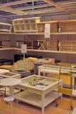 Εσωτερικό κατάστημα επίπλων Ikea Στοκ φωτογραφία με δικαίωμα ελεύθερης χρήσης