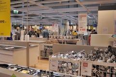 Εσωτερικό κατάστημα επίπλων Ikea Στοκ φωτογραφίες με δικαίωμα ελεύθερης χρήσης
