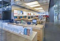 Εσωτερικό κατάστημα ναυαρχίδων της Apple, Πεκίνο, Κίνα Στοκ φωτογραφίες με δικαίωμα ελεύθερης χρήσης