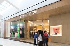 Εσωτερικό κατάστημα της Louis Vuitton στο βασιλιά της λεωφόρου της Πρωσίας Στοκ εικόνες με δικαίωμα ελεύθερης χρήσης
