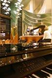 εσωτερικό καφέδων Στοκ εικόνα με δικαίωμα ελεύθερης χρήσης