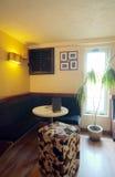εσωτερικό καφέδων Στοκ Φωτογραφίες