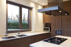 Εσωτερικό, κουζίνα Στοκ φωτογραφία με δικαίωμα ελεύθερης χρήσης