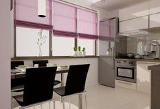 Εσωτερικό κουζινών Στοκ φωτογραφίες με δικαίωμα ελεύθερης χρήσης