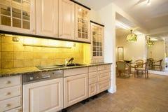 Εσωτερικό κουζινών Comfy στοκ εικόνες με δικαίωμα ελεύθερης χρήσης
