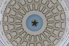 εσωτερικό κράτος Τέξας capitol στοκ φωτογραφία
