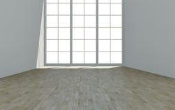 εσωτερικό λευκό δωματίων ανασκόπησης Στοκ φωτογραφίες με δικαίωμα ελεύθερης χρήσης